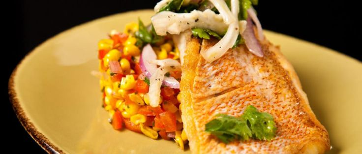 Pan Fried Red Snapper Fillet Recipes | pan-seared snapper from Miguel Aguilar, the executive chef of ...