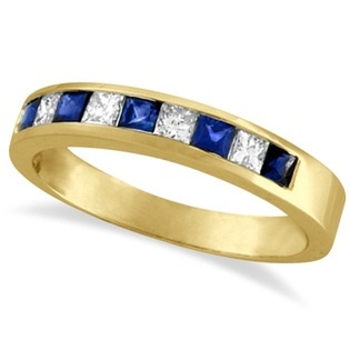 something blue wedding band