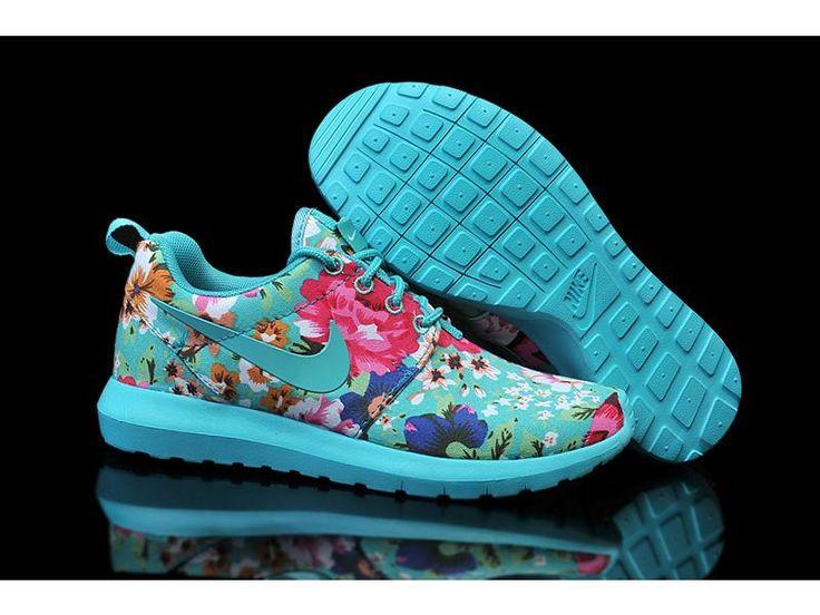 Chaussures Nike Foudre-femmes Roshe Courir Impression London Olympics 2017