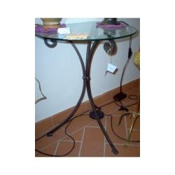 Bedside Table Wrought Iron. Customize Realizations. 949