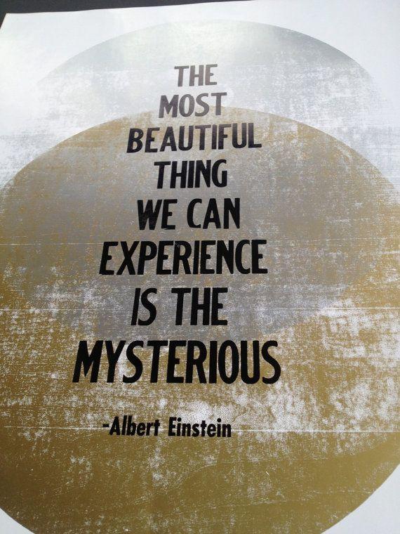 Albert Einstein Quote 14 x 18 by wnybac on Etsy