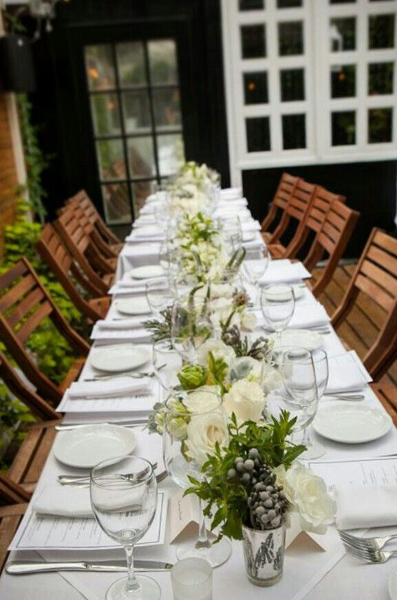 12 best Elegant table settings images on Pinterest | Wedding tables ...