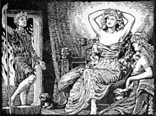 "In Norse mythology, Gerðr (Old Norse ""fenced-in""[1]) is a jötunn, goddess, and the wife of the god Freyr. Gerðr is attested in the Poetic Edda, compiled in the 13th century from earlier traditional sources; the Prose Edda and Heimskringla, written in the 13th century by Snorri Sturluson; and in the poetry of skalds. Gerðr is sometimes modernly anglicized as Gerd or Gerth."
