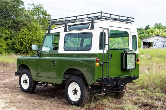 //1963 Land Rover Santana Series IIA to be auctioned at Motostagia's 2014 Grand Prix Auction November 1st at the Long center in Austin,