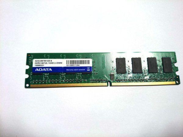 Memoria RAM DDR2 1GB ADATA - Computación - Chetumal - Anuncios