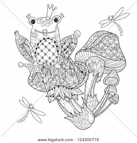 42 best Frog Tattoo Coloring Pages images on Pinterest | Frog ...