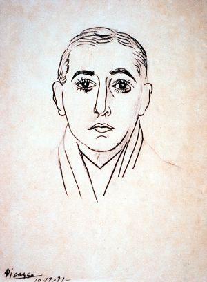 Vicente Huidobro en un dibujo de Pablo Picasso    Un siglo de vanguardia con Huidobro | Cultura | EL PAÍS