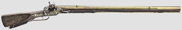 Lock, Stock, and History : An ornate snaphaunce musket originating from the...