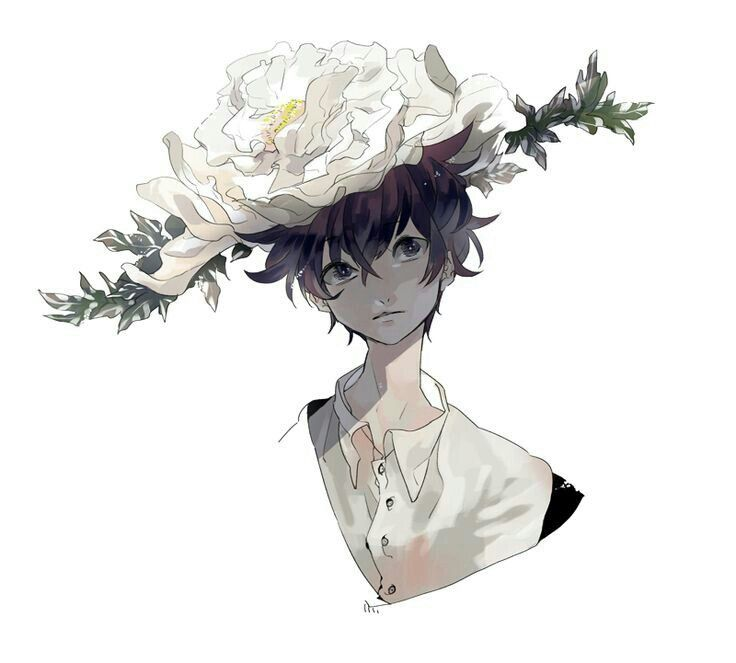 This is a graphic of Dashing Flower Boy Drawing