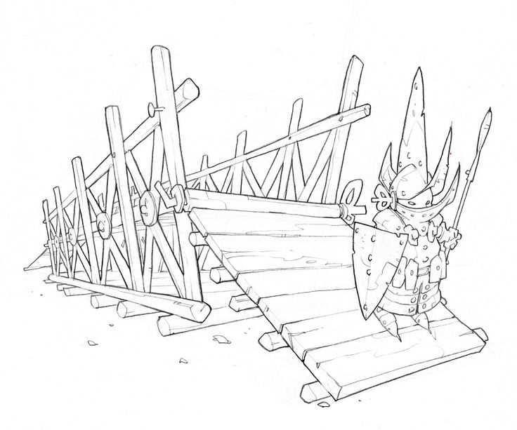 Da Vinci's Art of War: the mobile bridge.