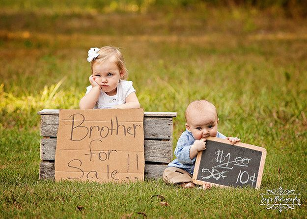 Fotos lindas que mostram o amor entre irmãos