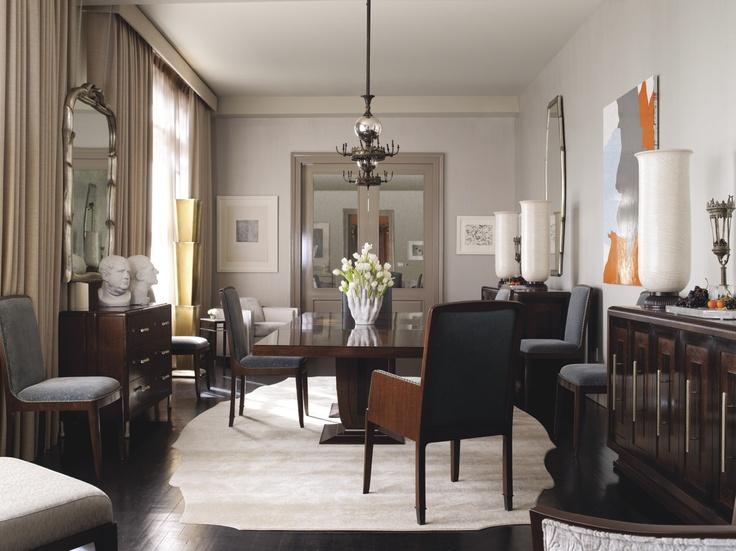 Modern Living Room Designed By Bill Sofield Baker Furniture