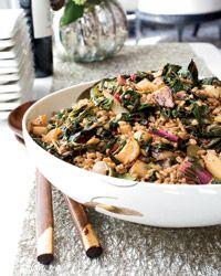 Farro Salad with Turnips and Greens Recipe - John Adler and Tamar Adler | Food & Wine
