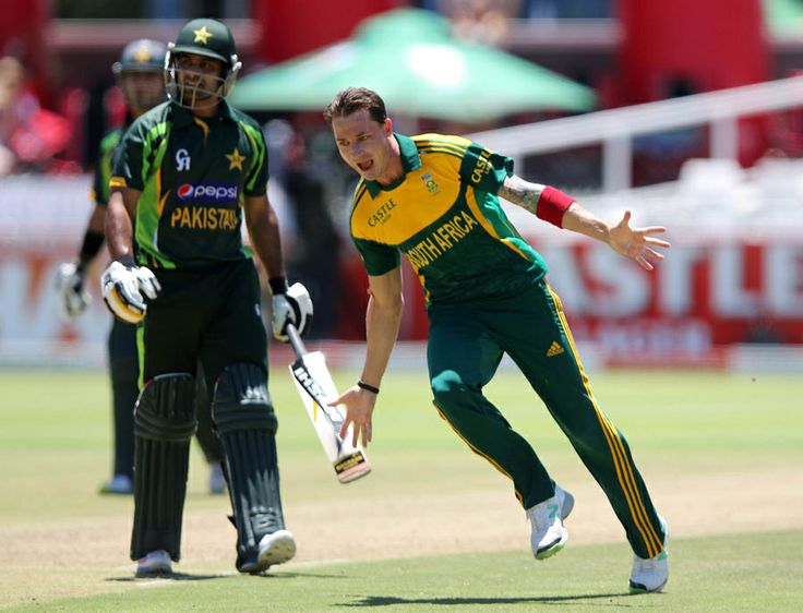 Dale Steyn picked up three wickets for 33 runs, South Africa v Pakistan, 1st ODI, Cape Town, November 24, 2013
