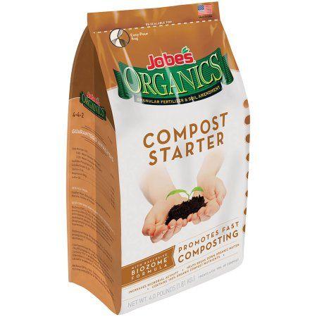 Jobe's Organics Compost Starter Fertilizer, 4 lbs
