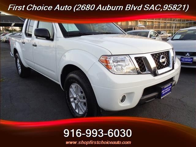 2014 Nissan Frontier SV 4x2 4dr Crew Cab 5 ft. SB Pickup 5A Sacramento First Choice Auto Sales 916-993-6030  https://www.hellabargain.com/2014-nissan-frontier-sv-4x2-4dr-crew-cab-5-ft-sb-pickup-5a-sacramento-first-choice-auot-sales-916-993-6030.html