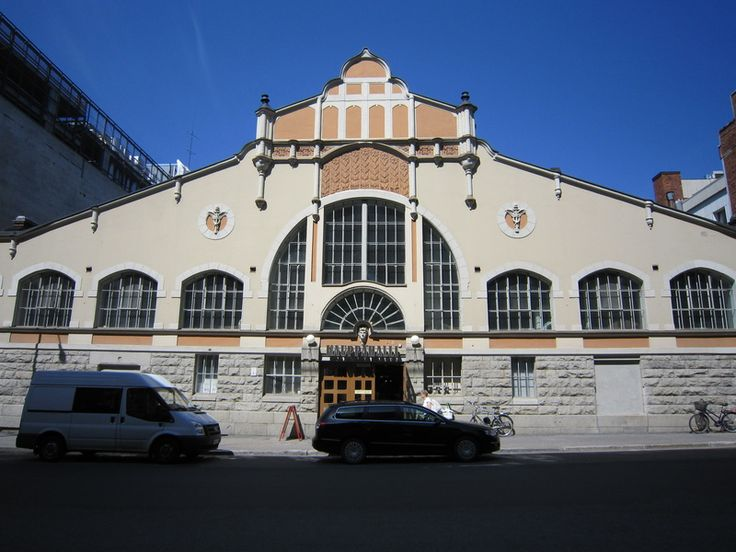 The largest roofed market hall in the Nordic countries, Tampere's Kauppahalli has served customers since 1901.