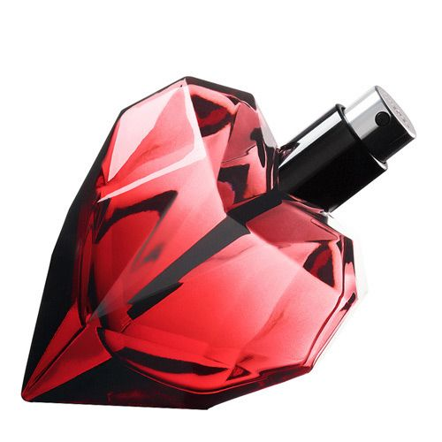 New! Diesel-Loverdose-Red-Kiss # Top notes: orange blossom; Heart: coco; Base: patchouli