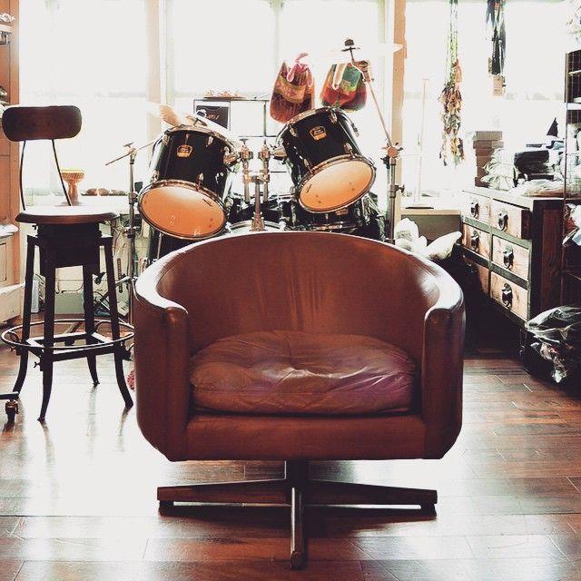 #midcentury #vintage #furniture #chair #lounge #danish #1960 #1960's #ミッドセンチュリー #チェア #ビンテージ家具 #drum ABBOT KINNEY FURNITURE