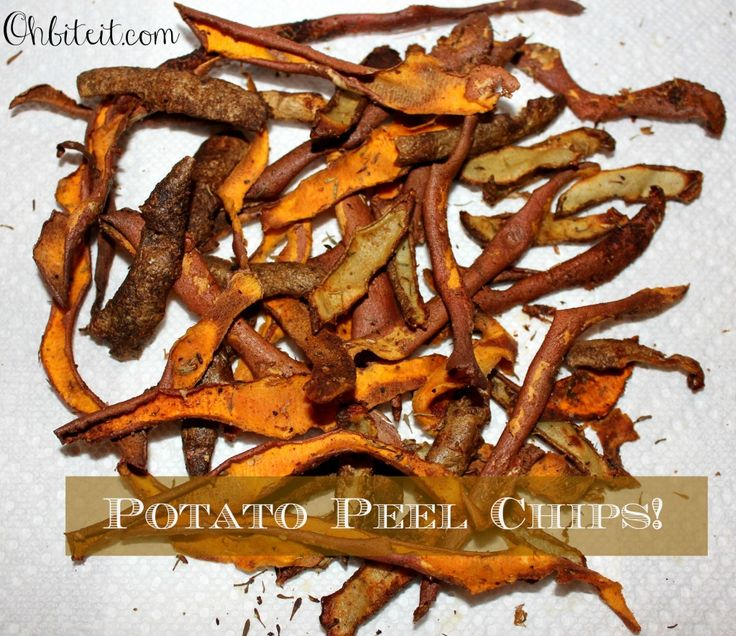 Potato Peel Chips! Just in time for Thanksgiving!