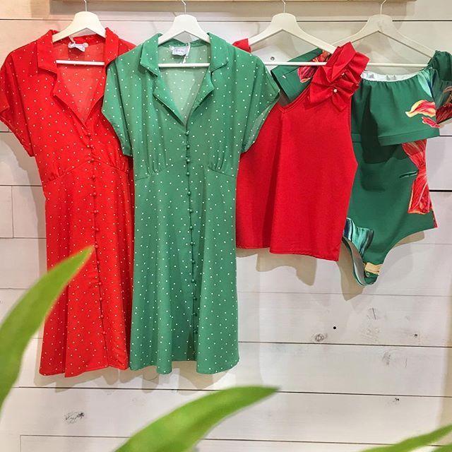 El verde es alegría y el rojo pasión que más necesitamos para empezar esta temporada de verano