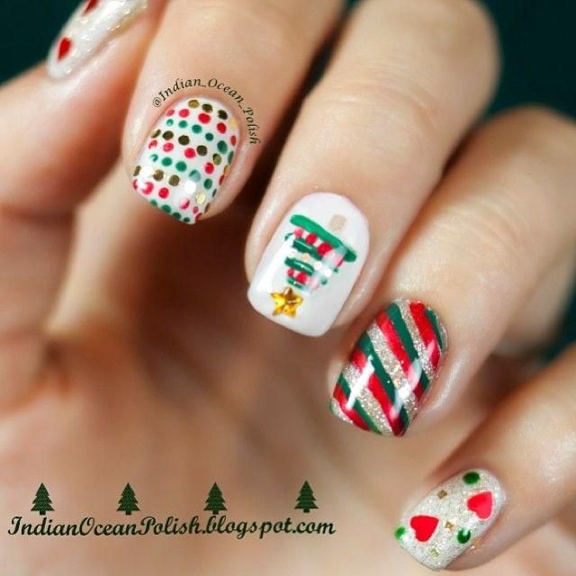 586 best nail art christmas images on pinterest abandoned christmas by indianoceanpolish nail nails nailart prinsesfo Choice Image