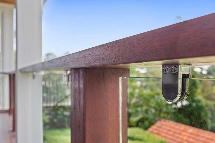Glass balustrade is on trend  . . .  #stainlesssteel #glassfencing #glassbalustrade  #beautiful #design #like #balustrade #modern #stylish