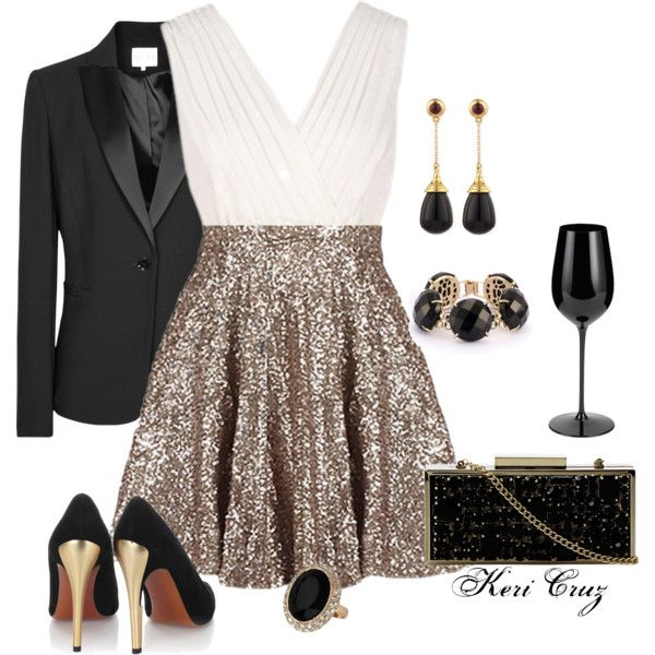 Work Christmas Party Outfit Ideas Part - 20: 23 Mind-Blowing New Yearu0027s Eve Outfit Ideas