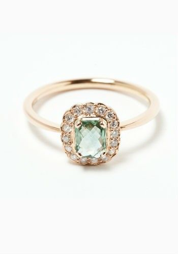 30 coloured stone engagement rings Rose gold: onllly type of acceptable gold