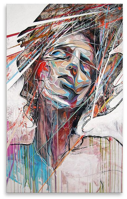 More by DOC...  Lost in the flow - Danny O'Connor DOC by Art By Doc, via Flickr