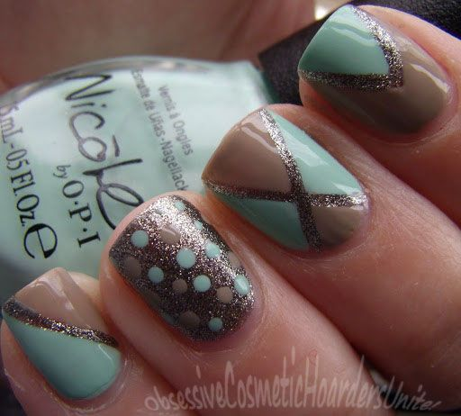 Obsessive Cosmetic Hoarders Unite!: Nicole by OPI Nail Art (Modern Family  Collection) - Best 25+ Tan Nails Ideas On Pinterest Acrylic Nails Nude, Gold