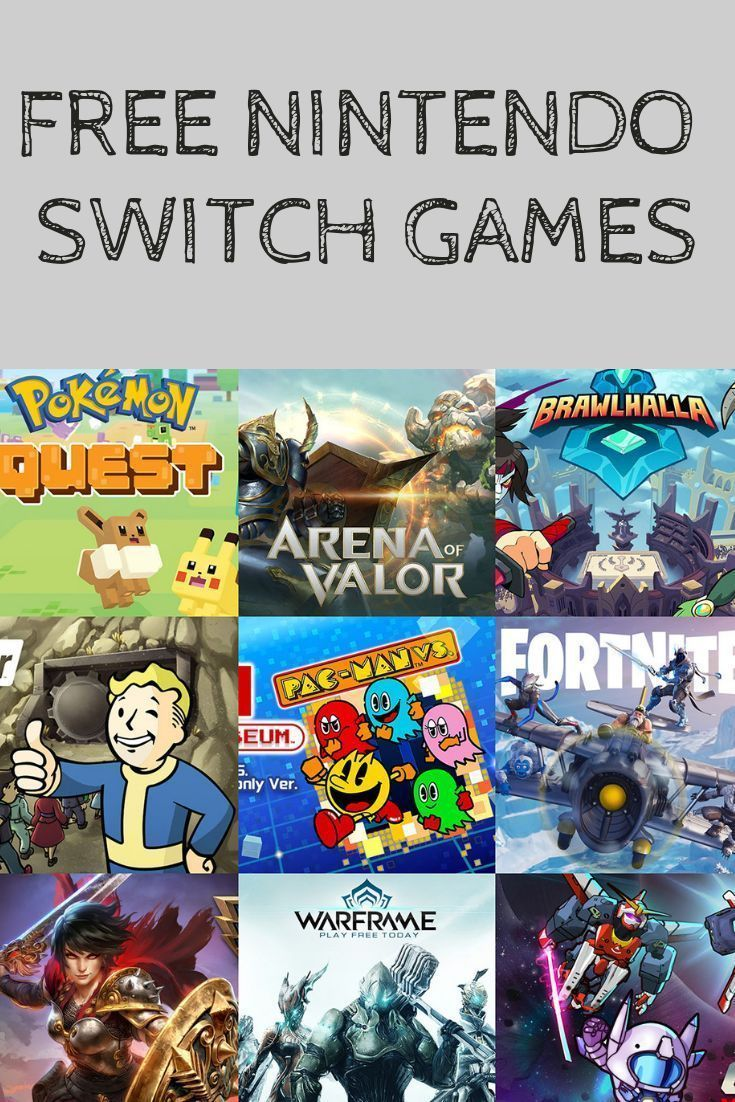 best free to play games switch