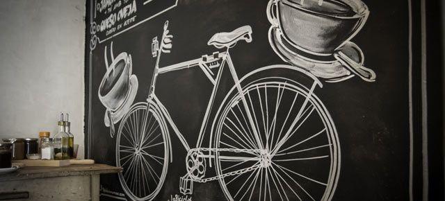 'La Bicicleta', el primer cycling café