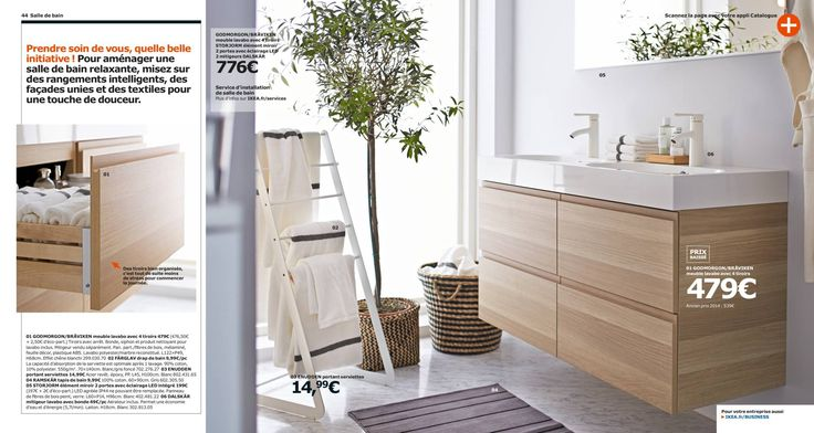 72 best salle de bain images on pinterest bathroom for Catalogue salle de bain ikea