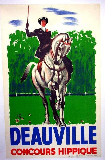 Deauville, le hippisme, les chevaux et la Normandie .... une grande histoire d'amour