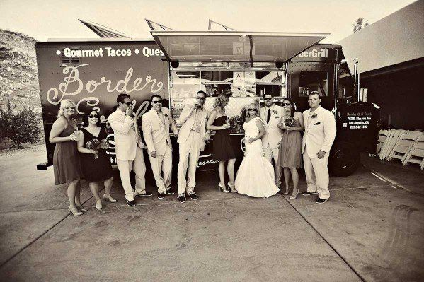 Border Grill Catering  Border Grill Truck - #Wedding Party Photo #Mexican Fiesta