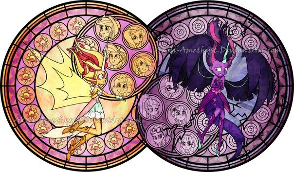 MLP equestria girl Friendship games Final battle in stained glass - Pesquisa Google