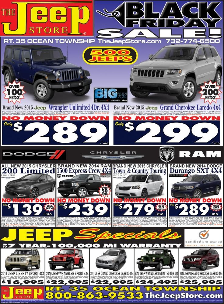 memorial day sale jeep 2014
