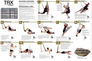 trx force tabla de ejercicios in 2020  trx workouts trx