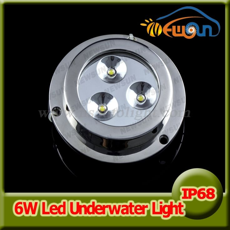 229.00$  Buy now - http://alihtb.worldwells.pw/go.php?t=32605708989 - 2pcs*3w 6w underwater led boat lights surface mount marine led light 5color underwater lights for yacht fountain pool decoration 229.00$