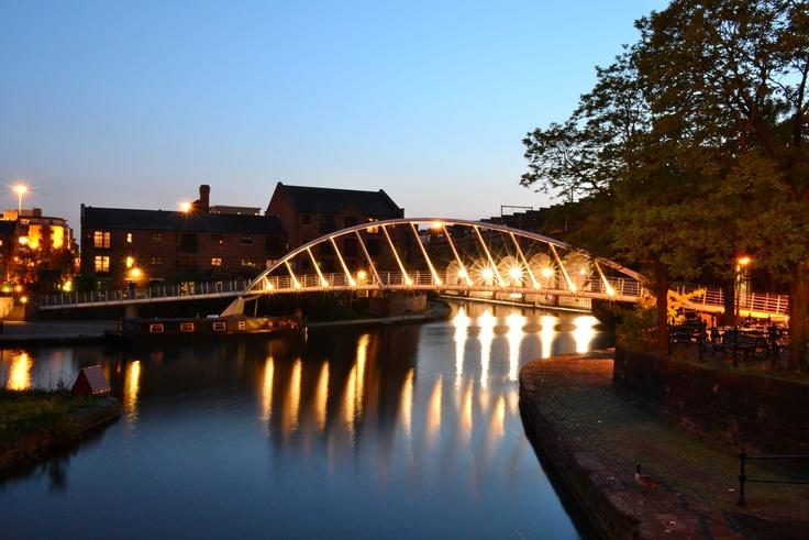 Wilkinson Eyre bridge #Architecture #Manchester