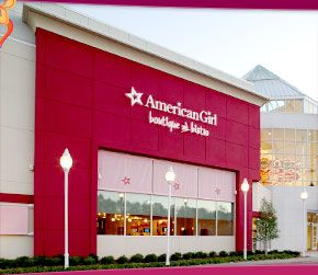 American Girl Atlanta-Dining, hair salon, store. This place is awesome!!