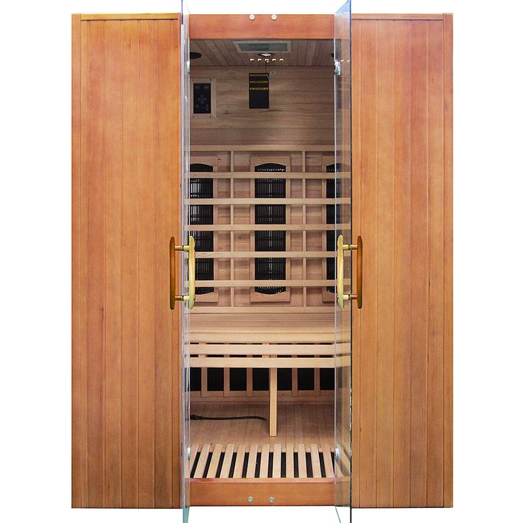 Niewyszukana konstrukcja sprawia, że ta sauna infrared dobrze wkomponuje się w każdym wnętrzu....