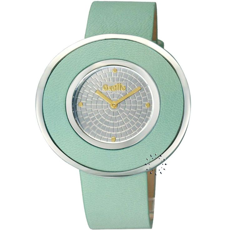 OXETTE Stainless Steel Green Leather Strap Μοντέλο: 11x06-00411 Η τιμή μας: 119€ http://www.oroloi.gr/product_info.php?products_id=26693