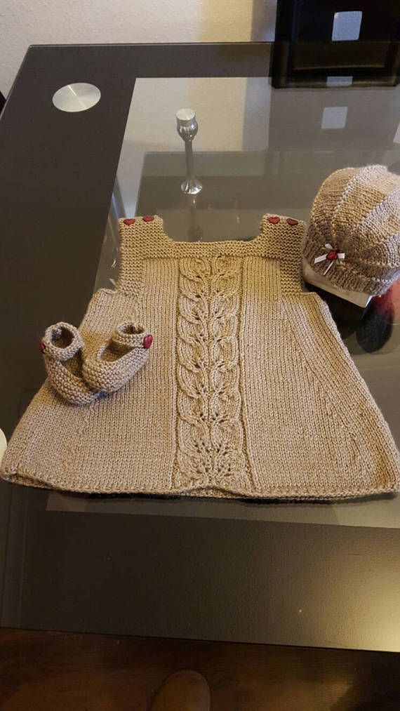 Check out this item in my Etsy shop https://www.etsy.com/uk/listing/508816840/beautiful-hand-knitted-baby-dress-outfit