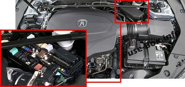 Acura Tlx 2014 2015 2016 2017 2018 2019 Fuse Box Location Acura Tlx Fuse Box Acura