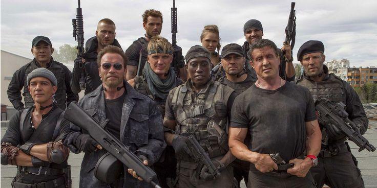 Le top 5 des héros de films d'action par la rédaction de CSM via @Cineseries
