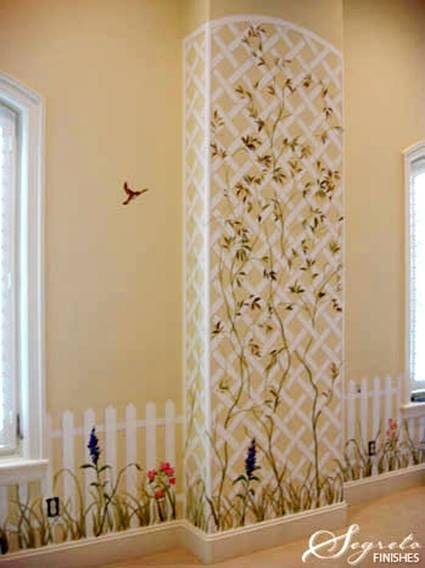 10 best garden themed bedroom ideas images on pinterest for Garden themed bedroom ideas