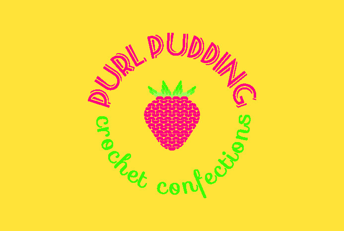 Branding For Purl Pudding! Copyright © Amanda Stringer 2016