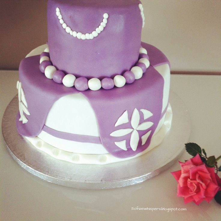 Birthday cake, Princess Sophia, Disney
